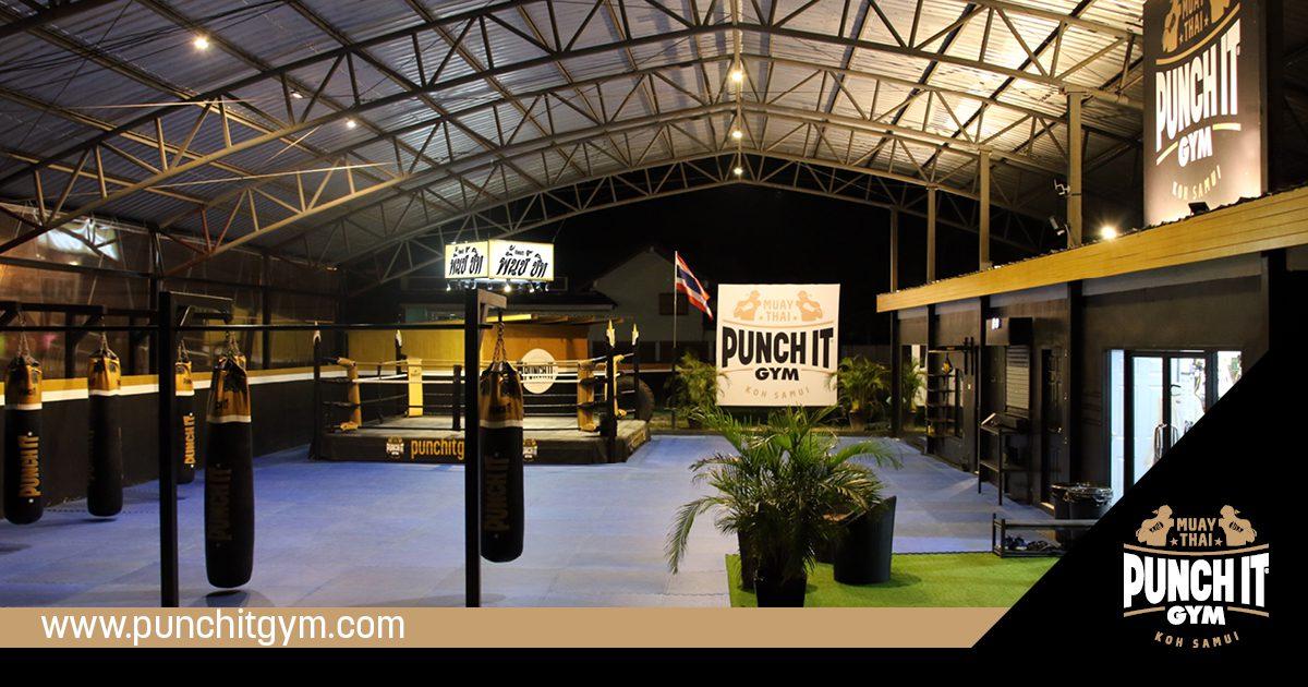 Muay Thai Gym Thailand - Koh Samui - Punch it Trainings-Camp