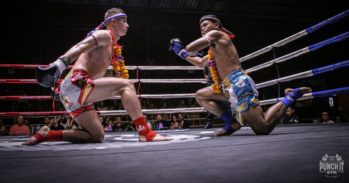 Muay Thai fights for foreigners in Thailand