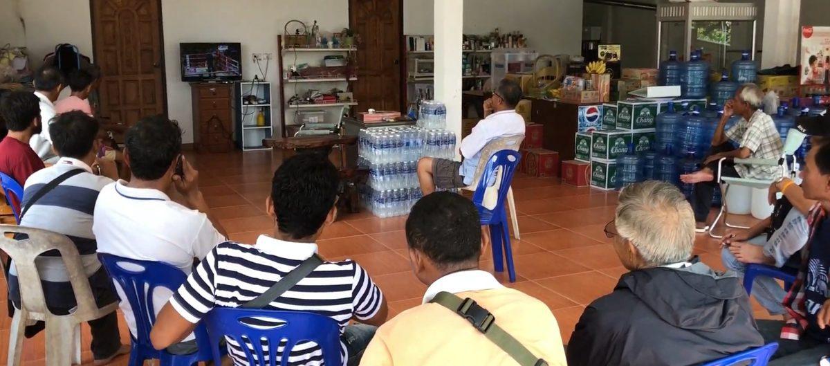 Koh Samui Muay Thai bet tv