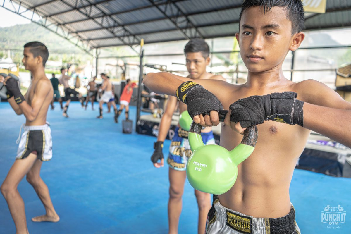 How children grow up with Muay Thai in Thailand