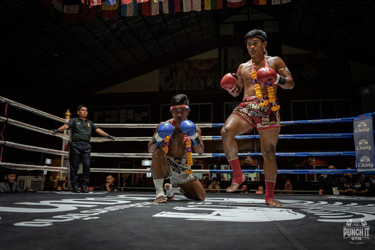 Wai Kru and the Mongkon in Muay Thai