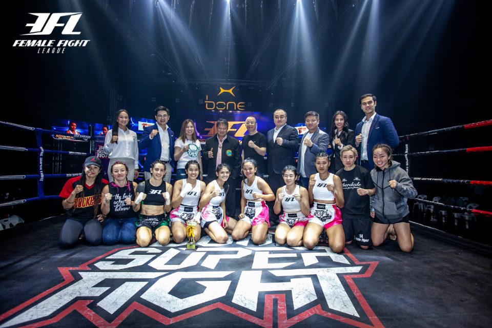 Female Muay Thai is growing worldwide